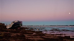 Sunset (Sarah Marston) Tags: boat sony hampshire alpha portchestercastle portchester a65