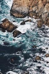 Find PEACE in TURMOIL@samgoeswest (SamLleva) Tags: highway1 california bigsur wash blue ocean rocks coastline pacificcoast