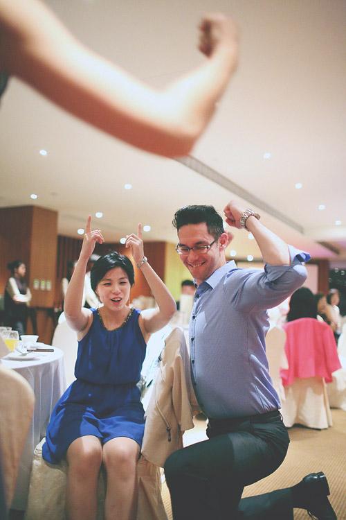 婚禮攝影-玩遊戲