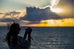 DSC_8625 (kabatskiy) Tags: sea journey northsea scandlines sunset ferry people seaside seasite wind storm passengers seamills windpower windpowerplants windmill