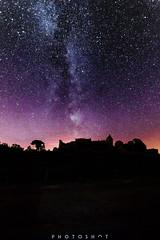 Chteau de Benauge (photoshot1993) Tags: sony alpha 37 tamron 10 24 35 56 wide angle ultra grand infrarouge 720nm voie lacte milky way night chateau de benauge gironde sky stars color