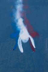 Gribouillage (Pierrotg2g) Tags: patrouilledefrance alphajet nikon d90 aerobatic isère dauphiné alpes alps grésivaudan grenoble avions aircraft