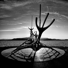 Ship (Kari Siren) Tags: viking ship statue iceland reykjavik