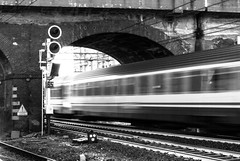 Travelling (marcobirello) Tags: train treno italy bw nikon d40x black white
