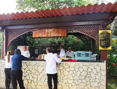 Outdoor Bar Stand (shaire productions) Tags: cuba image picture photo photograph travel street urban world traveler cuban caribbean island outdoor bar stand upscale hotel