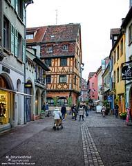 Rue des Marchands, Old Town Colmar France (PhotosToArtByMike) Tags: ruedesmarchands colmarfrance colmar france alsace halftimbered cobblestonestreets littlevenice medievalcity oldtown medievalstreets alsatianvillageofcolmar hautrhin