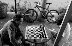 Game On (Mr Baggins) Tags: streetphotography johannesburg jozi chess melville fujifilmxt10