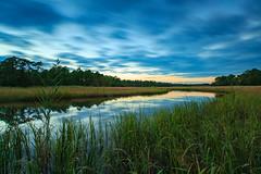 Jobs Creek (reclaimednj) Tags: tuckerton newjersey unitedstates us nj longexposure leefilters littlestopper lee9ndsoftgrad sunset creek river jobscreek bass burlingtoncounty 2016 saltmarsh