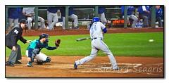 Top of the 9th - Michael Saunders Pinch Hits for Barney (seagr112) Tags: seattle seattlemariners torontobluejays washington baseball baseballgame mlb team sport michaelsaunders safecofield