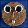 'na tazzulella 'e caffè, anzi due... (vigopix) Tags: caffè tazzine cucchiaio volto faccia sottopentola blu sughero