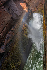 Thunder Hole (Acadia National Park, Maine) (*Ken Lane*) Tags: geo:lat=4432061471 geo:lon=6818854183 geotagged ottercreek unitedstates usa 28300 acadia acadianationalpark acadianationalparkthunderhole atomosphere attraction awesome barharbor barharbormaine beautiful cool eastcoast environment hancockcounty hancockcountymaine lookout maine mdi mountdesert mountdesertisland nationalpark nationalparkattraction nationalparkthunderhole nature nice nikkor28300 nikon nikon28300 northeastatlantic northeastunitedstates northeasternunitedstates observationpoint ocean outdoor overlook rock rockformation rockyshore scenicoverlook scenicview sea seaside serene shore sightseeing sky thunderhole thunderholeacadia touristattraction tourists travel travelphotography water watercavern crashingwaves waves rainbow rockface