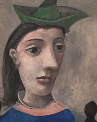 "Woman with Green Hat, 1939 (The Phillips collection) is a #portrait of the #surrealist artist and photographer Dora Maar, who was Picasso's model and mistress for eight years (1936-1944). #Picasso depicts Maar wearing her signature accessory -a hat. Maar' (""guerrilla"" strategy) Tags: ifttt instagram woman with green hat 1939 the phillips collection is portrait surrealist artist photographer dora maar who was picassos model mistress for eight years 19361944 picasso depicts wearing her signature accessory a maars expression this work which painted october just after beginning world war ii reflects uncertainty that time 