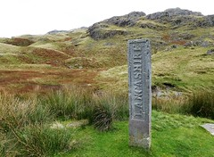 Three Shire Stone (Lake District) (Dugswell2) Tags: threeshirestonelakedistrict boundarystone wrynosepass