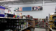 Stunted Signage (Retail Retell) Tags: senatobia ms walmart supercenter 90s tate county retail classic project impact decor original cutout spark logo signs preremodel