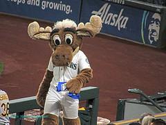 M's Moose (Starlite Wonder Imaging) Tags: mariners baseball seattle moose starlite wonder imaging stadium safeco northwest winning homerun swing play game