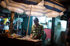 Focus - Kolkata, India - Leica M9-P (Sparks_157) Tags: 50mmf14summilux amit india kolkata leica leicam9 amitkar asia city citylife driveby foodcart foodstall life m9p man night people shop shopkeeper street streetlife streetphotography streetscene travel travelphotography urban worker working focus concentration