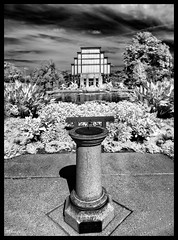 The Jewel Box in Infrared - No. 4 (Nikon66) Tags: jewelbox infrared forestpark stlouis missouri nikon d800