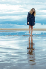 (Ella_likes_rain) Tags: lake michigan chicago reflection reflect conceptual artistic photography art evening blue hour distorted