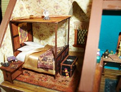Neville's Bedroom (dollie-mama) Tags: harrypotter nevillelongbottom wizardhouseminiature