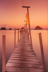 Jetty (chandlerbong) Tags: sunrise landscapes seascapes philippines surigao sonynex6 1650pz