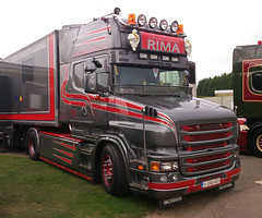 Scania (71B / 70F ( Ex Jibup )) Tags: truck cab wheels lorry chassis v8 tyres sleeper scania haulage r500 topline fifthwheel sleepercab axles r620 r480 143m