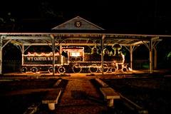 HDR Train Christmas (J Jenkins DeRidder) Tags: christmas train texas christmaslights polarexpress christmasdecorations livingston vintagetrain vintagechristmas southernchristmas historictrain livingstontx