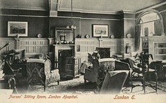 London Hospital Nurses Sitting Room (robmcrorie) Tags: london history home hospital garden sister royal east patient health national doctor nhs service british nurse whitechapel healthcare edwardian 1900s postacrd