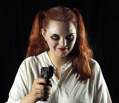 BG Petra (@IqLarusCanus) Tags: girl gun petra makeup canoneos5dmkii