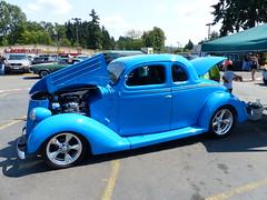 1936 ford (bballchico) Tags: 1936 ford 5window coupe streetrod rongadwa ratbastardsinfestationcarshow 2014 206 washingtonstate