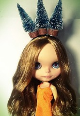 Blythe-a-Day December#2 Fir Crazy & #30 The More the Merrier: Cynthia
