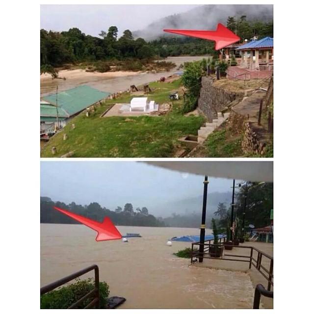 PRAY TO #MALAYSIA  Flood..