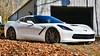 Corvette C7 (scott597) Tags: fall leaves stingray wheels corvette c7 forgeline