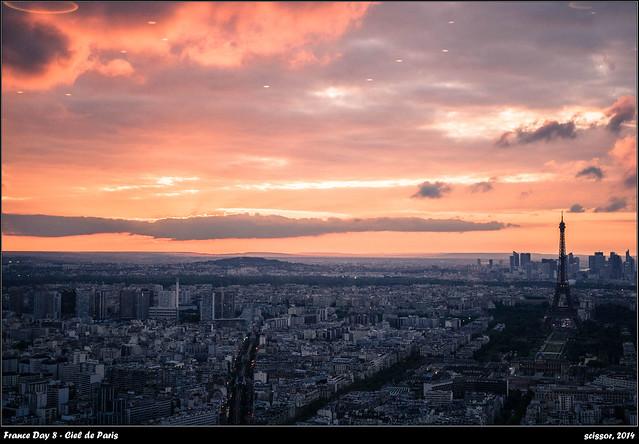 France Day 8 - Ciel de Paris