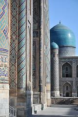 Tillya Kori Moschee Samarkand II