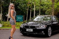 BMW 320i (Jeferson Felix D.) Tags: brazil woman rio brasil riodejaneiro lady canon de eos janeiro mulher bmw m3 320i bmwm3 bmw320i 18135mm 60d worldcars canoneos60d