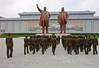 Mansudae Grand Monument (EleanorGiul ~ http://thevelvetrocket.com/) Tags: asia kimjongil northkorea pyongyang dprk coreadelnorte kimilsung nordkorea 北朝鲜 북한 koreanpeoplesarmy 北朝鮮 coréedunord coreadelnord mansudaegrandmonument justinames севернаякорея coréiadonorte visitnorthkorea httpthevelvetrocketcom eleonoragiuliani eleonoraames