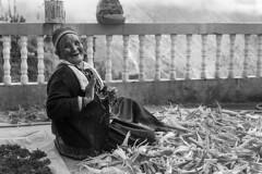 * Grandmother's smile. (Wook..) Tags: street leica travel nepal portrait people blackandwhite bw 35mm photography blackwhite summicron passion mm monochrom himalaya himalayas himalayan wook f20 langtang stphotographia flickrtravelaward bangwook wwwbangwookcom
