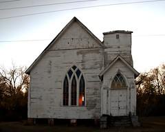 Haven Memorial (Mike McCall) Tags: abandoned church window georgia gothic ruin stainedglass historic methodist derelict waynesboro 1888 methodistepiscopal burkecounty mikemccallphotography 2014mikemccall