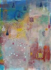 journey (em gray) Tags: abstract map originalart mixedmedia journey ordnance menagerie emmagray redbubble society6