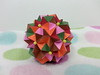 Stellated rhombic enneacontahedron (hyunrang) Tags: origami stellated hur rhombic knotology enneacontahedron paperstirp