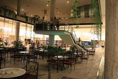 Lobby of the Hotel Habana Libre (Cache Scouter) Tags: night hotel walk havana cuba lobby habana missiontrip vim 2014 hotelhabanalibre cuba2014