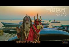 """WELCOME TO THE CITY OF GODS"" (GOPAN G. NAIR [ GOPS Creativ ]) Tags: india tourism river photography varanasi hindu hinduism kashi ganga ganges banaras gops gopan gopsorg gopangnair gopsphotography"