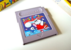 Japanese Snow Bros. Jr. GameBoy cartridge (bochalla) Tags: game japan japanese portable box nintendo retro handheld packaging videogame manual cart gameboy import cartridge capcom platformer instructionmanual bubblebobble toaplan snowbros snowbrothers naxatsoft nickandtom snowbrosjr singlescreenplatformer