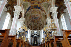 Mainz church interior