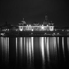 (Pouva Start 1955) Dresden Klassik 041, Akademie der Künste - Academy of the Arts (nemodoteles) Tags: light river licht dresden kunst elbe akademiederkünste academyofthearts pouvastart