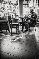 Coffee Time! (Jack Mayall Photography) Tags: street red llandudno tog