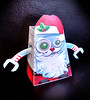 Robot Santa Papercraft Model (shaire productions) Tags: santa christmas xmas red holiday art illustration project paper fun toy happy robot 3d model origami artist creative diagram figure animation cheer jolly template papercraft freedownload shaireproductions