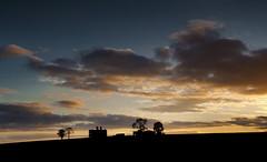 Abandoned Castle, Rathcoffey, Co Kildare, Ireland. (2c..) Tags: ireland light 2 sky  castle abandoned dark kildare silheoutte rathcoffey