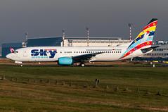 D-AGSA - German Sky Airlines - Boeing 737-800 (5B-DUS) Tags: sky airport international german boeing dusseldorf airlines dsseldorf 737 737800 dus b738 eddl dagsa