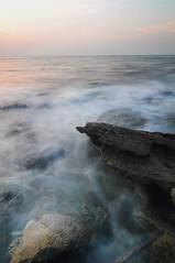 ফেনিল শ্মশান (Hameem Shakhawat) Tags: longexposure sunset sea beach coral saintmartin tide bangladesh chittagong coralbeach d90 coralisland teknaf hameem tokina1116 hameemshakhawatshameem cokinp121mgnd4